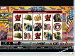 darmowe sloty Captain America CryptoLogic